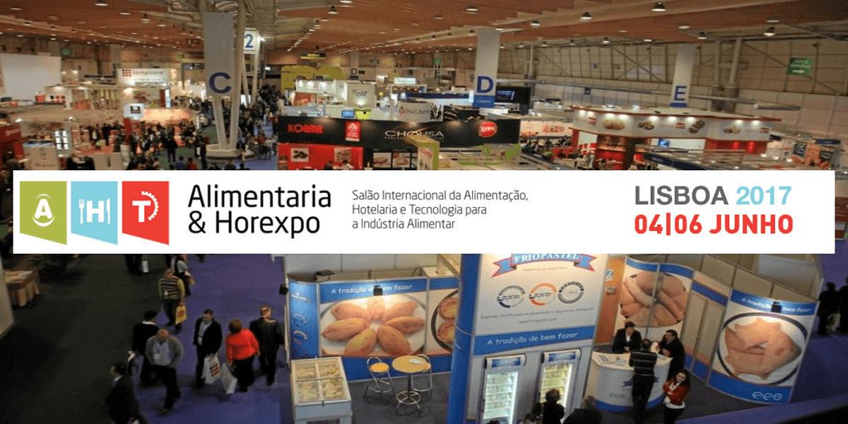 INOVFLOW na área de exposição da Alimentaria & Horexpo