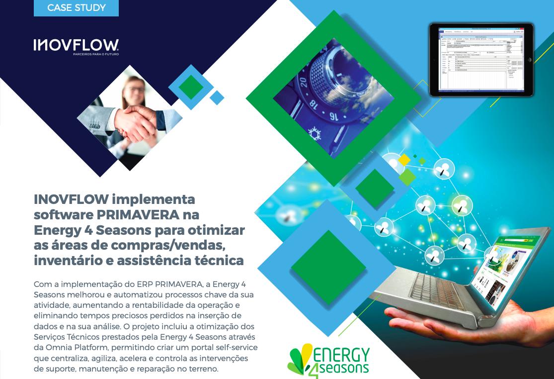 OTIMIZAÇÃO DOS SERVIÇOS TÉCNICOS NA ENERGY 4 SEASONS