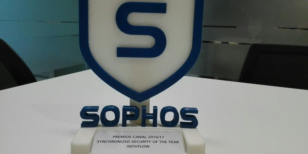 INOVFLOW distinguida pela SOPHOS com o prémio Synchronized Security of the Year