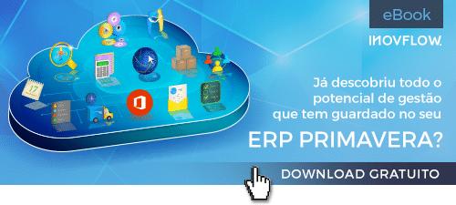 eBook gratuito: Dicas para potenciar o ERP PRIMAVERA