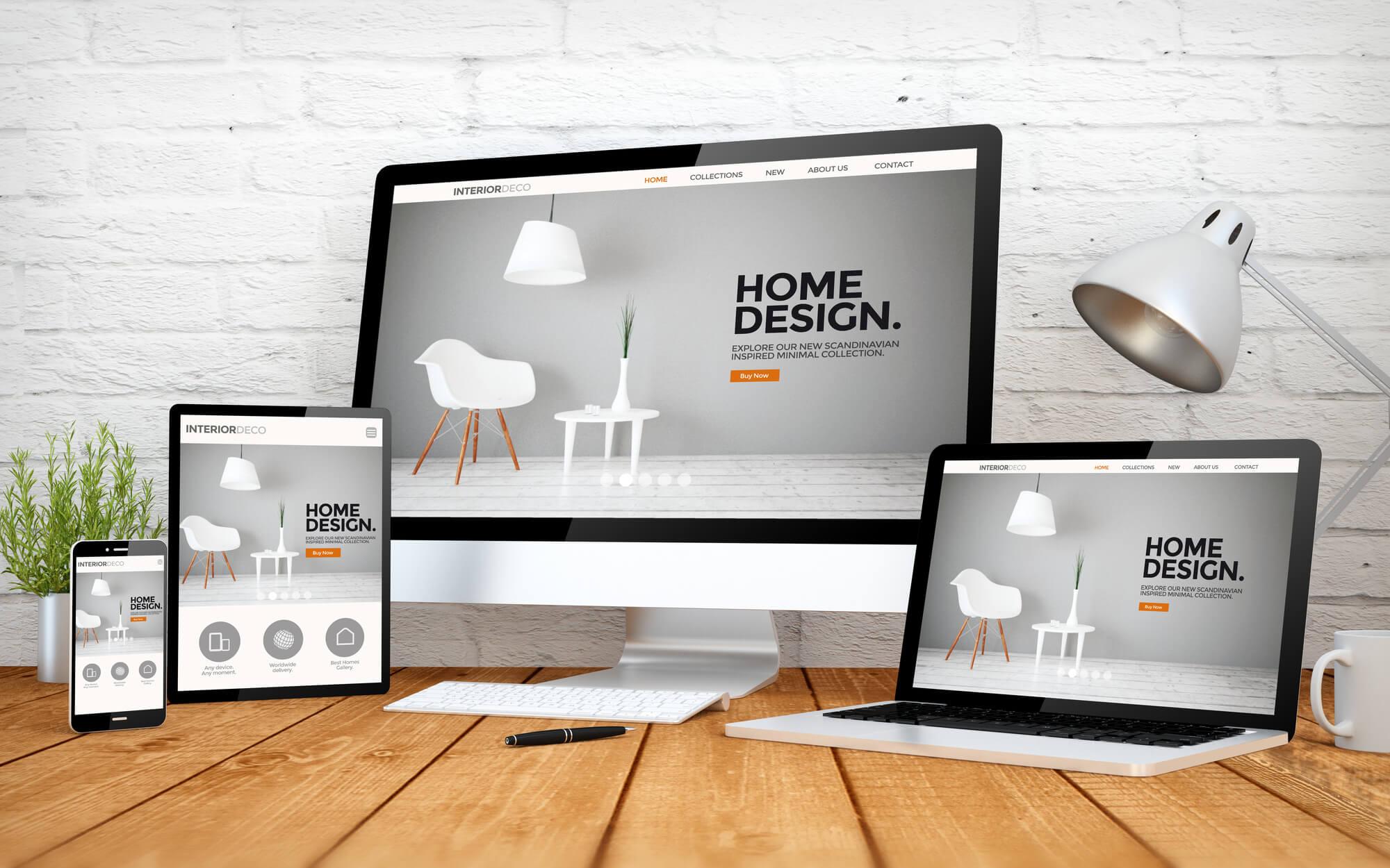 O seu site disponível em todos os ecrãs e dispositivos